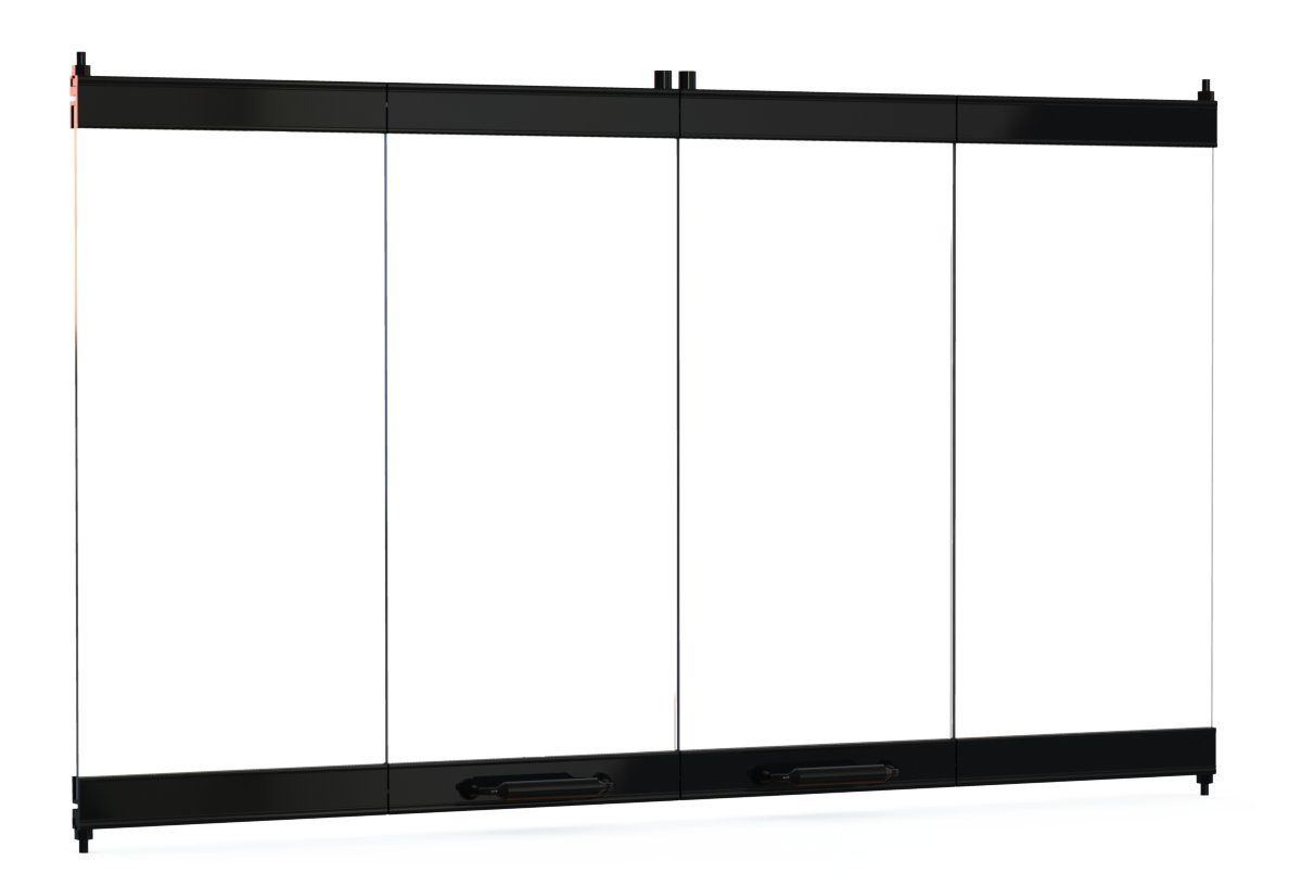 36'' Fireplace Glass Door Set To Fit Heatilator Unit by Pathline Products (Image #3)