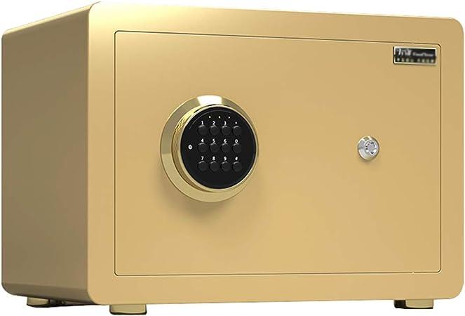 Cajas fuertes Caja Fuerte, con Llaves y Colchonetas, Mini Caja de Seguridad con Contraseña Electrónica de 30 Cm, Gabinete Engrosado, para La Sala de Estar de La TiendaGabinete seguro(Color:estilo2): Amazon.es: Hogar