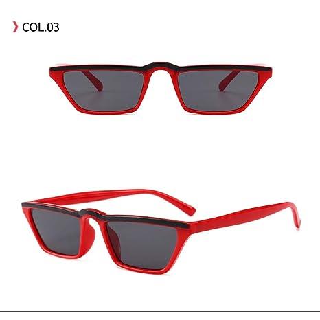 Yangjing-hl Gafas de Sol sombrillas Negras Tendencia de la ...