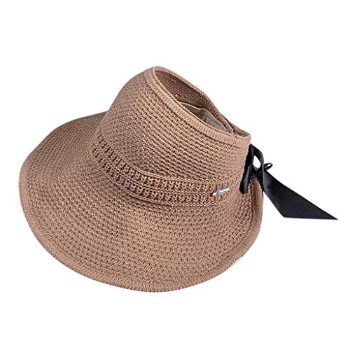 Weiliru Women's Petite Scrunchie Sun Hat - UPF