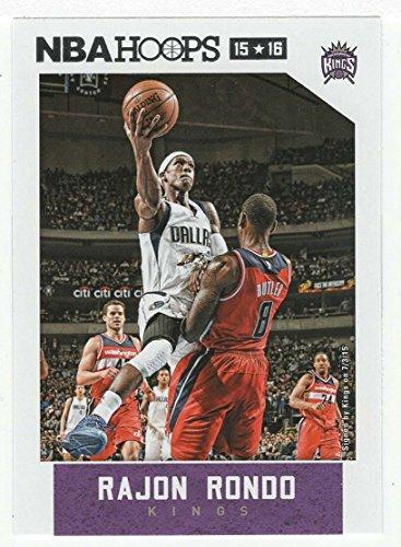 (Rajon Rondo (Basketball Card) 2015-16 Panini NBA Hoops # 18 Mint)