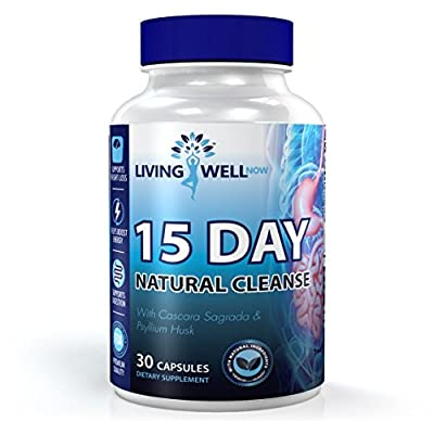 Best Colon Cleanse to Support Weight Loss! Natural Colon Cleansing and Detox Cleanse. Colon Cleanse Supplement. Very Safe and Natural Colon Cleanse Pills for improved Intestinal Health