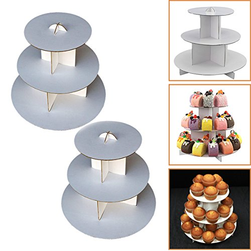 (Adorox 2 Pcs. 3-Tier (12