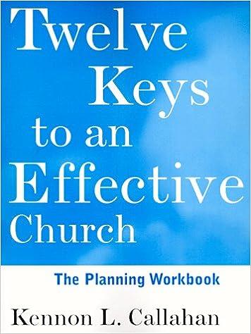 Amazon.com: Twelve Keys to an Effective Church, The Planning ...