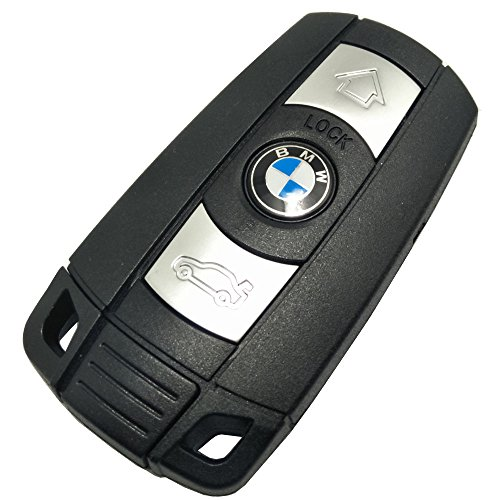 Remote Shell fit for BMW 1 3 5 6 Series Smart Key Case Fob 3 Button X5 X6 M5 M6