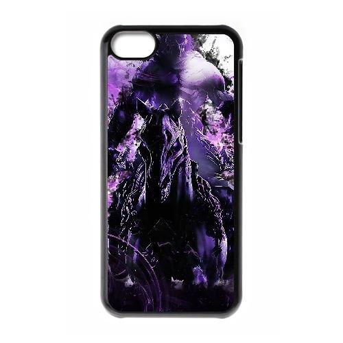 M8S80 Darksiders II L1O5BA cas d'coque iPhone de téléphone cellulaire 5c couvercle coque noire KV5MLH2NN