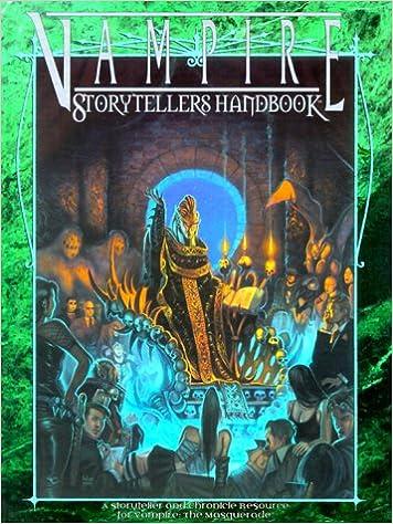 Vampire Storytellers Handbook