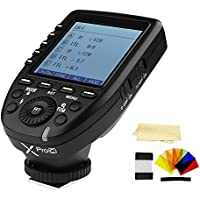 Godox XPro-C E-TTL 2.4G High-Speed Sync Wireless Flash Trigger Transmitter compatible for Canon Cameras, 1/8000s,11 Customizable Functions,16 Groups and 32 Channels