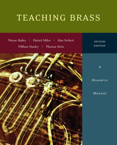 Teaching Brass: A Resource Manual