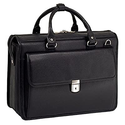 McKlein USA S Series Gresham Leather Litigator Laptop Brief 70%OFF