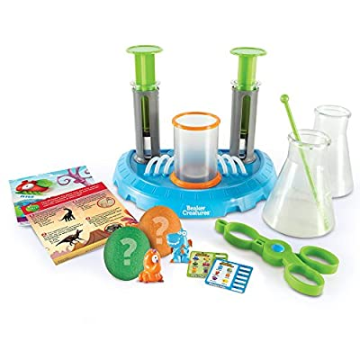 Learning Resources Beaker Creatures Liquid Reactor Super Lab, Homeschool, STEM, Science Exploration Toy, Ages 5+: Toys & Games