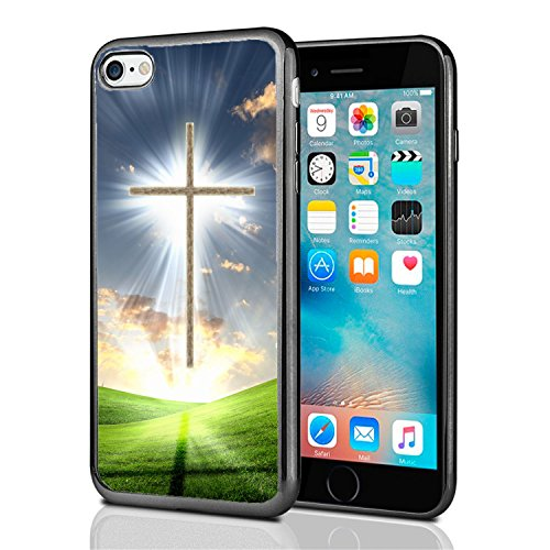 Christian Cross for iPhone 7 (2016) & iPhone 8 (2017) Case Cover by Atomic Market
