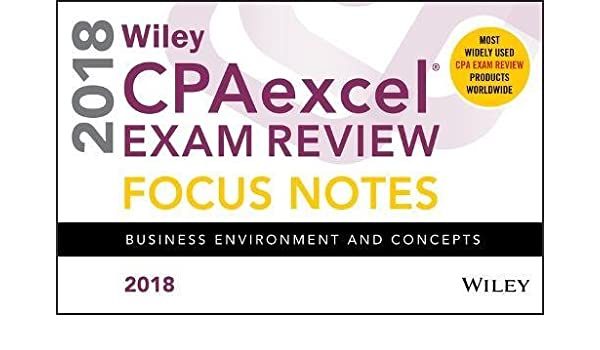 wiley cpaexcel exam review 2016 focus notes set