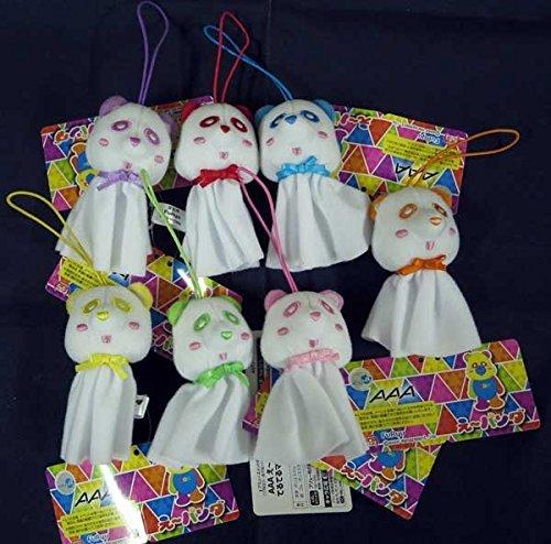 Mascot alle 7 Arten gesetzt Teru sind AAA Eh Panda