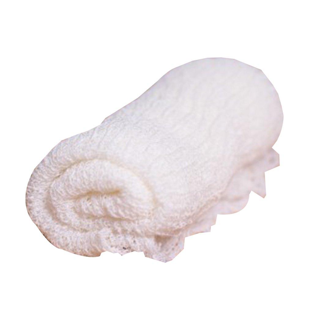 Providethebest 40x150cm la foto del bebé Manta infantil Swaddle Wrap recién nacido Swaddler infantil saco del bolso del paño manta de recepciónAzul Provide The Best