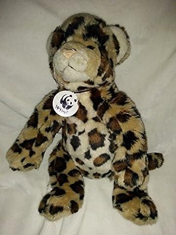 Build a Bear Workshop World Wildlife Fund Series 2012 Plush Stuffed Leopard Cheetah (Wwf Cheetah)