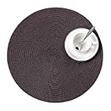 """sanheng fire Coffee Weaving Round Coasters Kitchen and Dining Tabletop Western Heat-Proof Placemat 5 Pieces 11.5"""""""