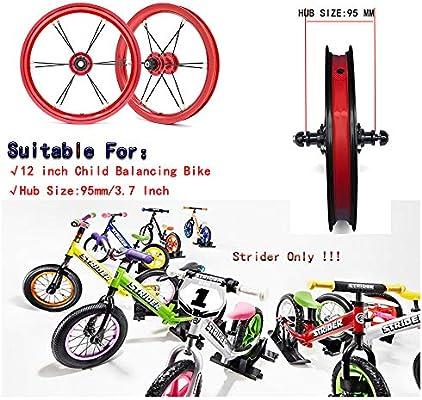 Fochutech - Ruedas de Repuesto para Bicicleta de 12 Pulgadas ...