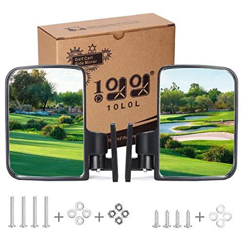 10L0L Golf Cart Mirrors