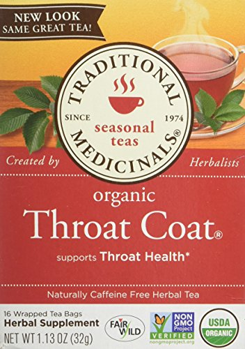 Traditional Medicinals Organic Throat Coat - 16 Tea Bags