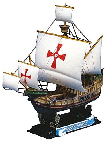 Aoshima Santa Maria 1492 Historical Sailing Ship Model (Historical Model Ship)