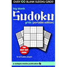 Big Blank Sudoku Grids (Portable Edition) by Walapie Media (2014-03-05)