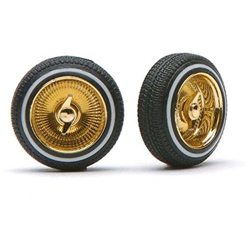 Gold Spokes Rims - 6