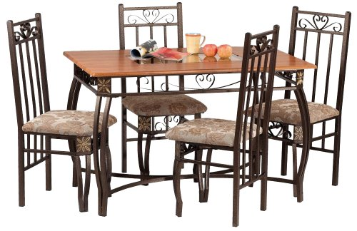 Amazon Com Home Source Industries Madrid Dinette A0073 5