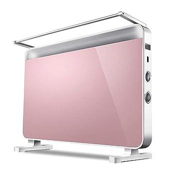 MSNDIAN Calentador eléctrico ·Calentador de hogar heaterCalentador silencioso ·Calor eléctrico silencioso a prueba de