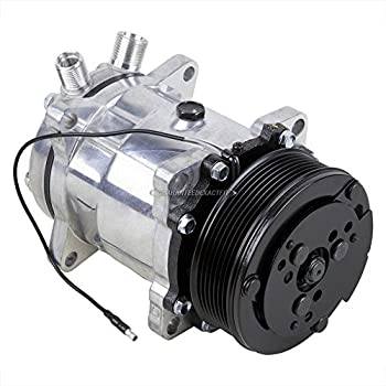 AC Compressor & A/C Clutch Replaces Sanden SD5H14 4514 6629 - BuyAutoParts 60-02100NA New
