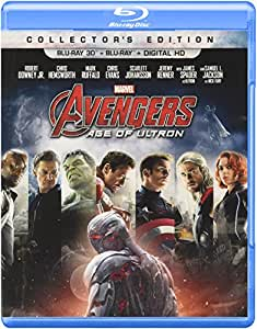 Marvel's Avengers: Age of Ultron (Collector's Edition) (Blu-ray 3D + Blu-ray + Digital HD)
