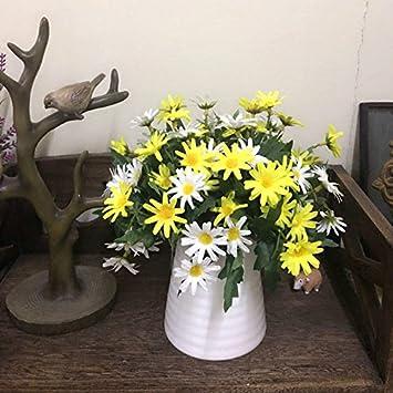 Amazon.de: Im europäischen Stil, dekorativen Blumentopf Rose Seide ...