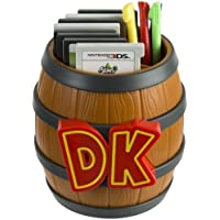PDP Donkey Kong Barrel Game Card Storage for Nintendo 3DS