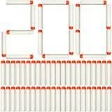AMOSTING 200Pcs Refill Darts for Nerf N Strike Elite Glow at The Dark Bullets Pack - White