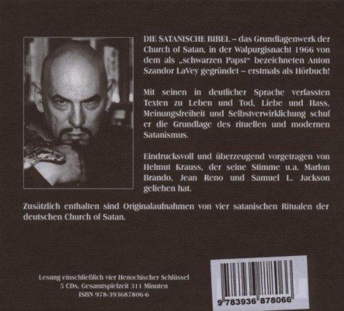 Die Satanische Bibel Hörbuch Amazonde Anton S Lavey