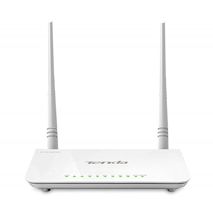 Renewed  TENDA TE D303 Wireless N300 ADSL2+/3G Modem Router  All in One  Routers