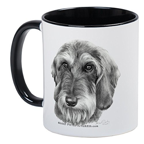 Wirehaired Dachshund - CafePress Wire-Haired Dachshund Mug Unique Coffee Mug, Coffee Cup