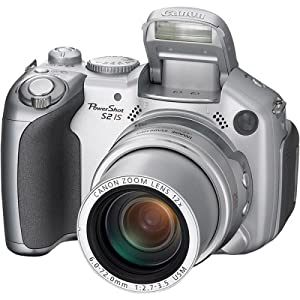 Canon Powershot S2 IS 5MP Digital Camera with 12x Optical Image Stabilized Zoom (OLD MODEL)