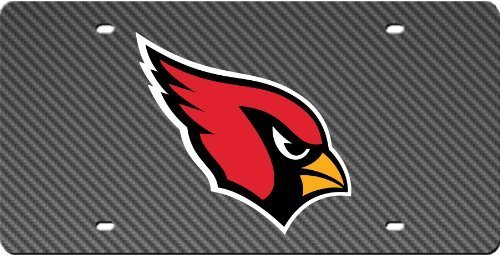 Arizona Cardinals Mega Acrylic License Plate