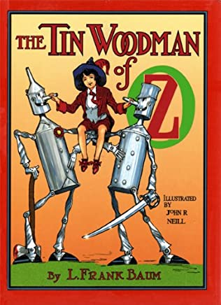 book cover of The Tin Woodman of Oz