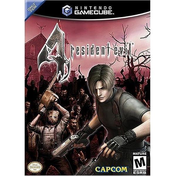 Amazon Com Resident Evil 4 Gamecube Artist Not Provided Video Games