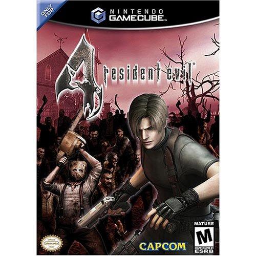 resident evil 4 gamecube cover art