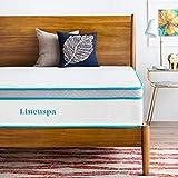 LINENSPA 12 Inch Gel Memory Foam Hybrid Mattress - Ultra Plush - Individually Encased Coils - Sleeps Cooler Than Regular Memory Foam - Edge Support - Quilted Foam Cover - Queen