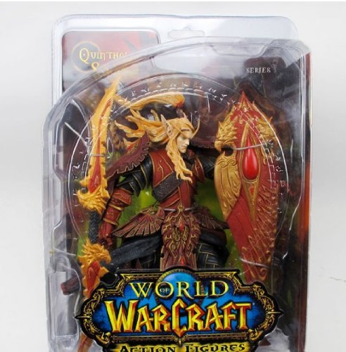 (7 Weapons World Of Warcraft DIY Model Blood elf paladin)
