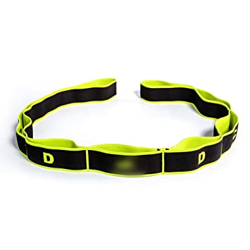 LINDANIG Cinturón elástico de Yoga Cinturón elástico ...