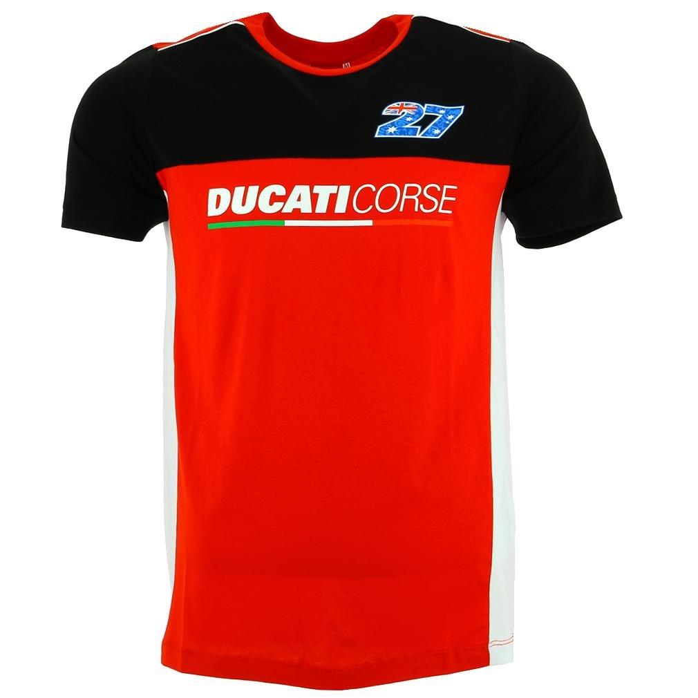 2018 Team Ducati Casey Stoner # 27 Cs27 MotoGP pour Homme Team T-Shirt Tailles S-XXL Ducati Corse Team