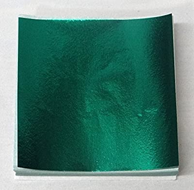 """3"""" x 3"""" Dark Green Confectionery Foil Wrappers Candy Wrappers Candy Making Supplies"""