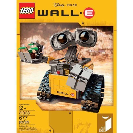 LEGO Ideas WALL-E, 677 Pieces ,Age Range: 12 years and up by LEGO (Image #2)