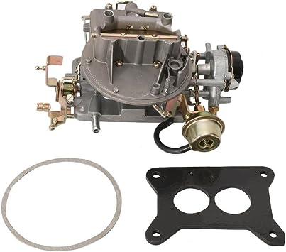MSRCA 2 Barrel Carburetor Carb Fit Jeep Wagoneer 64-78 1964~1978 Engine 360 Cu