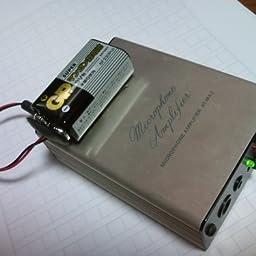 Amazon Co Jp Audio Technica At Ma2 Microphone Amplifier Electronics Cameras